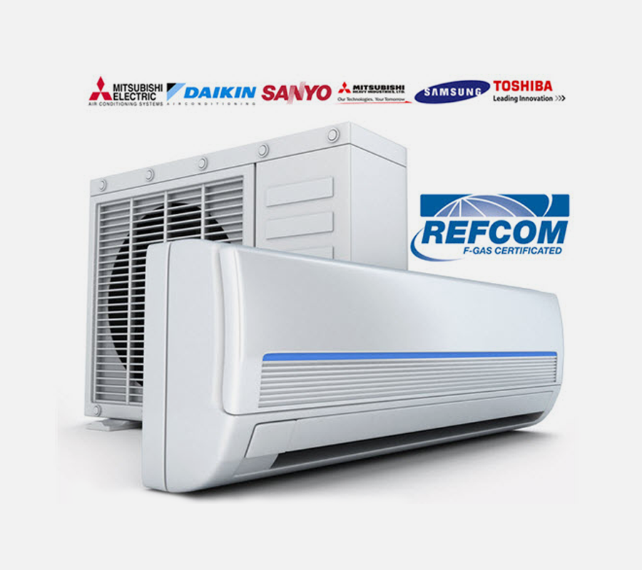 Commercial air conditioners for business places