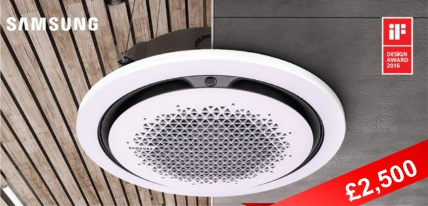 The New Samsung 360 Cassette Supplied and Installed For Only £2,500!